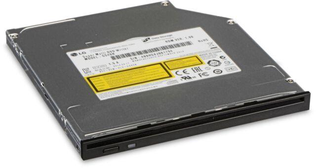 LG Slim Slot-load DVD-RW Rewriter, LG-GS40N