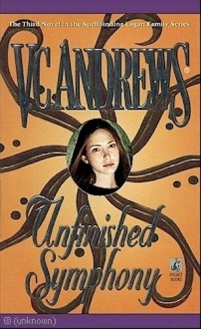 Unfinished Symphony: Logan series #3 - V.C. Andrews PB GC Mystery Drama Suspense