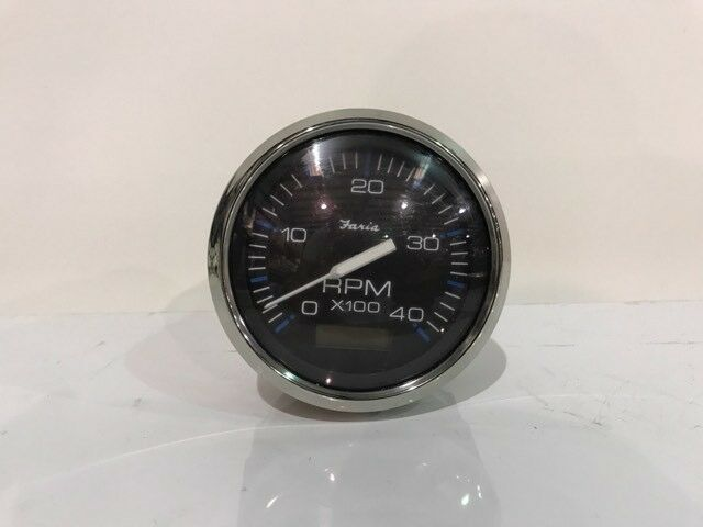 Tachometer With Hour Meter : Electronic specialties el small engine tachometer hour meter