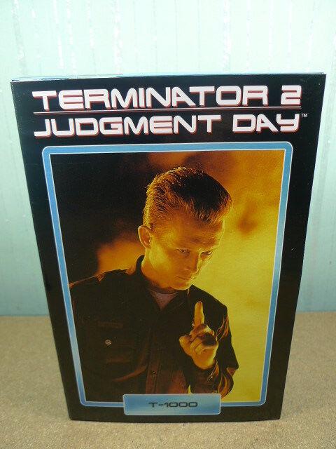 "Neca Ultimate Terminator 2 Judgement Day T-1000 Robert Patrick 7"" Action Figure"