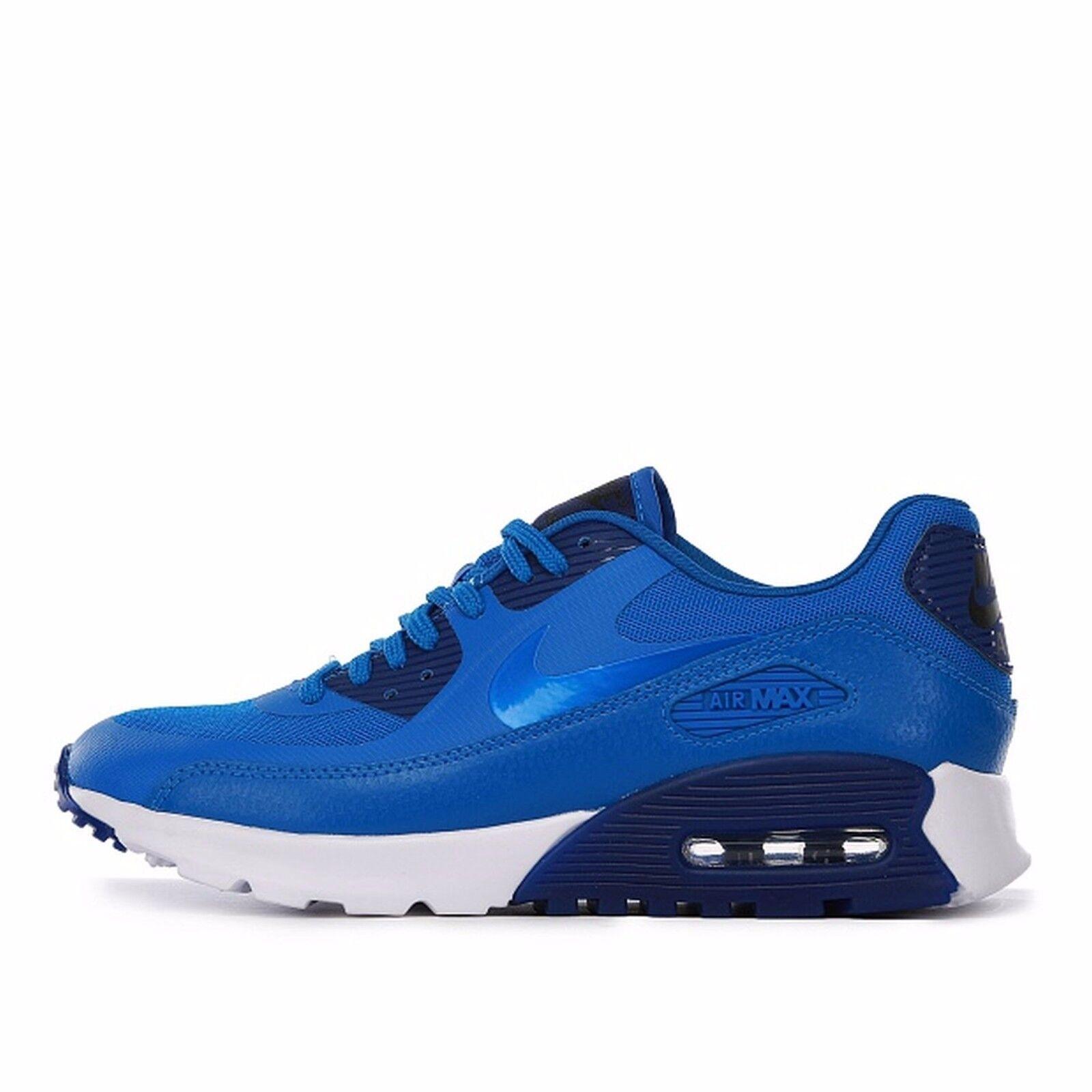Size 12 Nike Women Air Max 90 Ultra Essential Blue White 724981 401