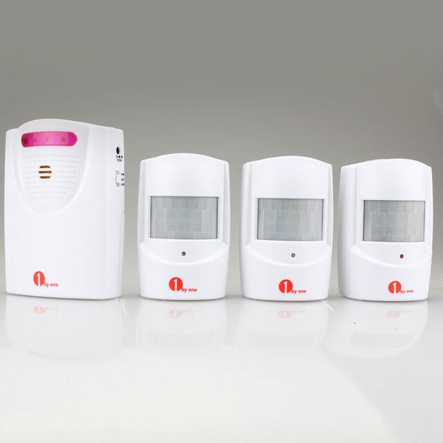 1byone Wireless Driveway Motion Sensor Detector Alarm Alert 1 ...