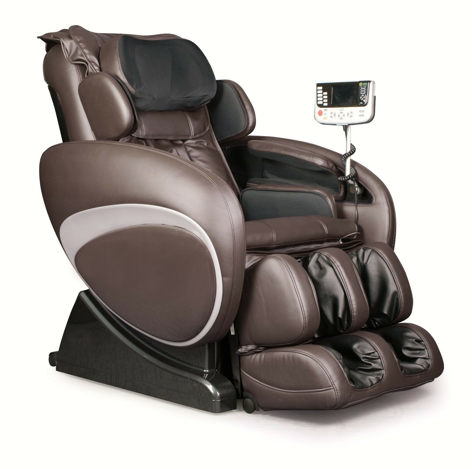 Brown Osaki Os 4000 Zero Gravity Massage Chair Recliner