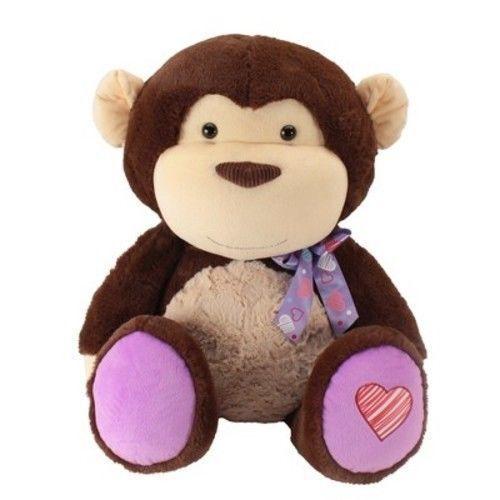 Jumbo Animal Adventure Stuffed Monkey Plush Ebay