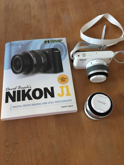 Nikon 1 J1 10.1MP Digital Camera - White (Kit w/ VR 10-30mm and VR 30-110mm...