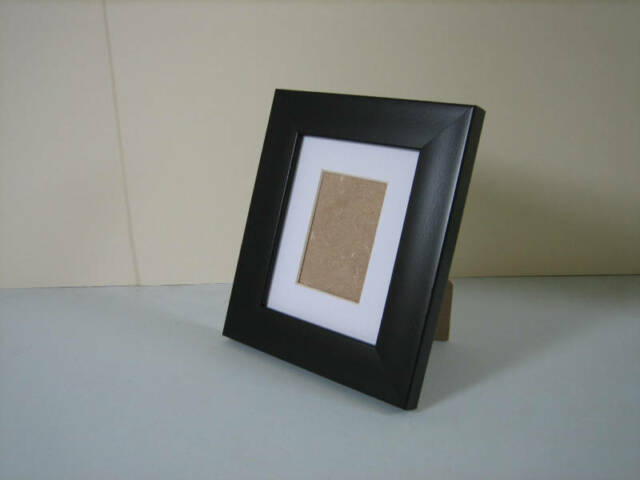 Black 4x5 Picture Photo Frame Mount 2x3 Standing Ebay