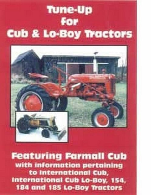 farmall cub international lo boy 154 184 185 loboy tractor tune up rh ebay com Farmall Cub Transmission Farmall Cub Transmission