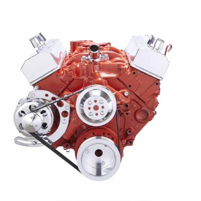1977 Chevy Small Block Motor Wiring: SBC Serpentine Conversion Kit Alternator Only 283 327 350