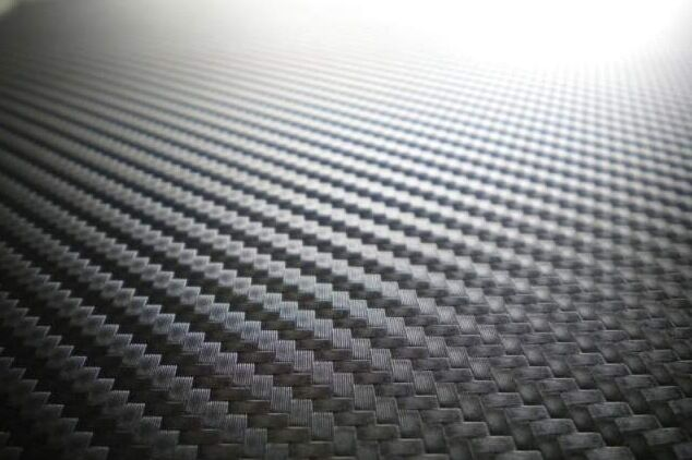 Vinyl wrap car wrapping with air drain d black carbon fiber per