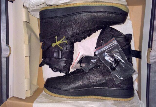 Nike Special Forces Air Force 1 Black Gum Men's US Sz 13 864024-001 BNIB