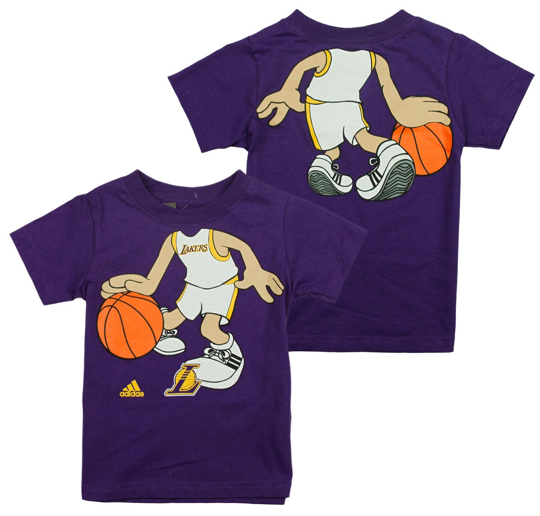 b2c1ab06a5e Adidas NBA Basketball Toddlers Los Angeles Lakers Boys Dream Job Tee ...
