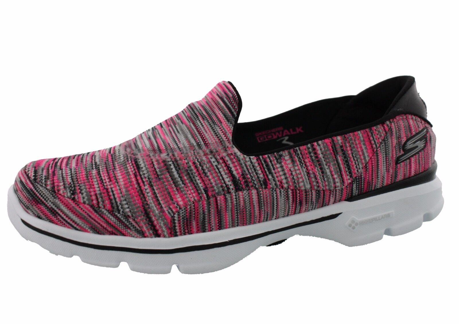 Skechers Gowalk 3 Feuillet Sur Des Femmes Chaussures Déments G5ZBAV