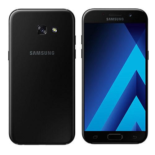 SAMSUNG GALAXY A5 2017 A520F 4G LTE 32GB NERO BLACK USATO GRADO C+