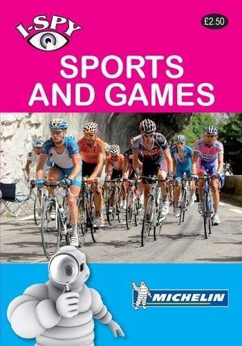 Michelin I-Spy SPORTS & GAMES (paperback)