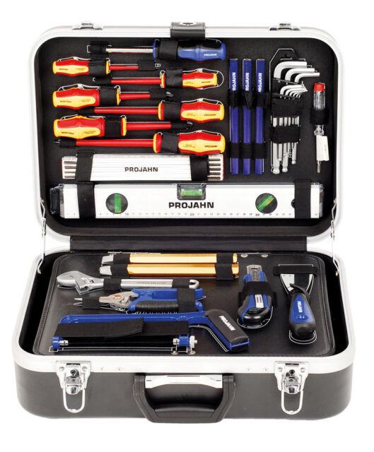 Projahn Elektro Werkzeugkoffer Elektriker Werkzeugsatz Werkzeuge 128 Teile  8683