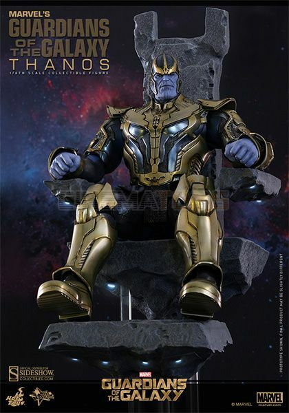 Marvel Thanos Sixth Scale Figure Hot Toys Guardians Of The Galaxy Sideshow