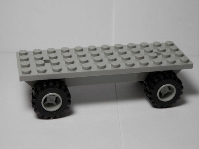 Lego Old Light Gray Vehicle Base 4 X 12 X 1 2/3 - BB48 | eBay