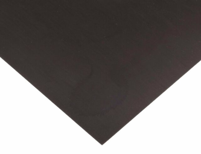 24x12 black flexible magnetic sheet for magnetizing bumper stickers