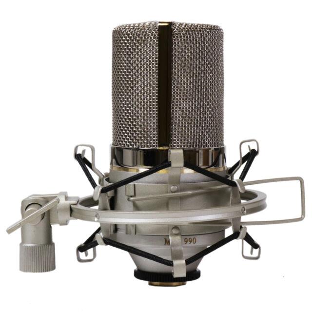 MXL 990 / MXL990 Condenser Microphone w/ Shockmount