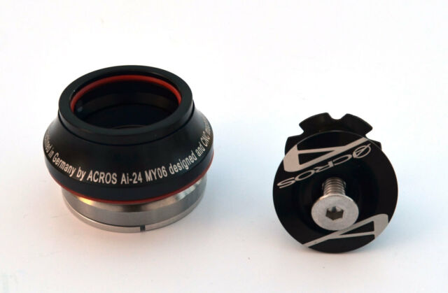 ACROS AI-24 Steuersatz Voll-Integriert 1 1/8 AH schwarz IS41 / IS41