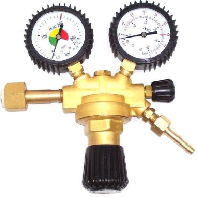 Druckminderer Argon CO2 MIG MAG WIG Schutzgas Schweiß Gas Druckregler Manometer