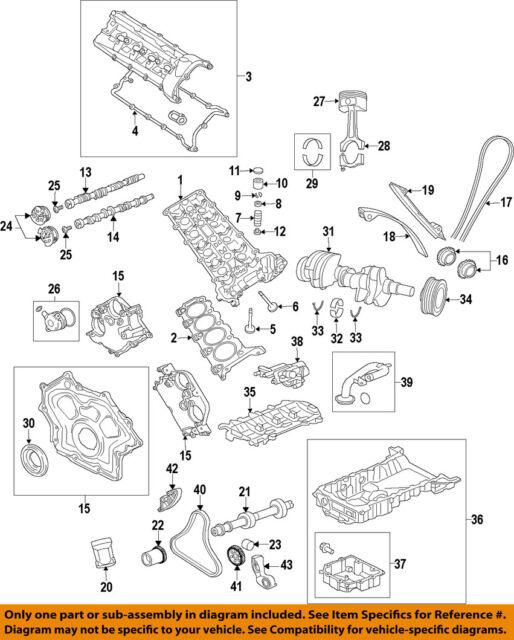 genuine jaguar front crank seal aj811449 ebay rh ebay com Jaguar 4 2 Supercharged Engine Diagram 2003 Jaguar XK8 Fuse Diagram