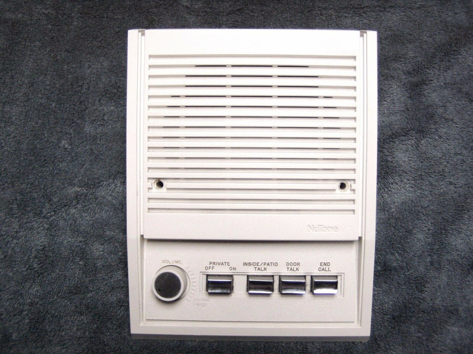 nutone intercom  nutone  nutone is1205 ivory speaker