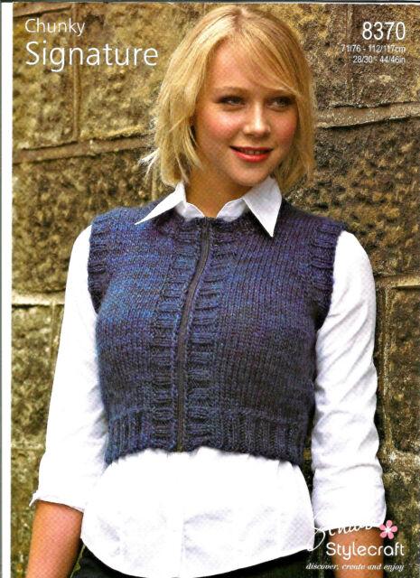 Easy Knitting Patterns Women S Vests Best Vest 2018