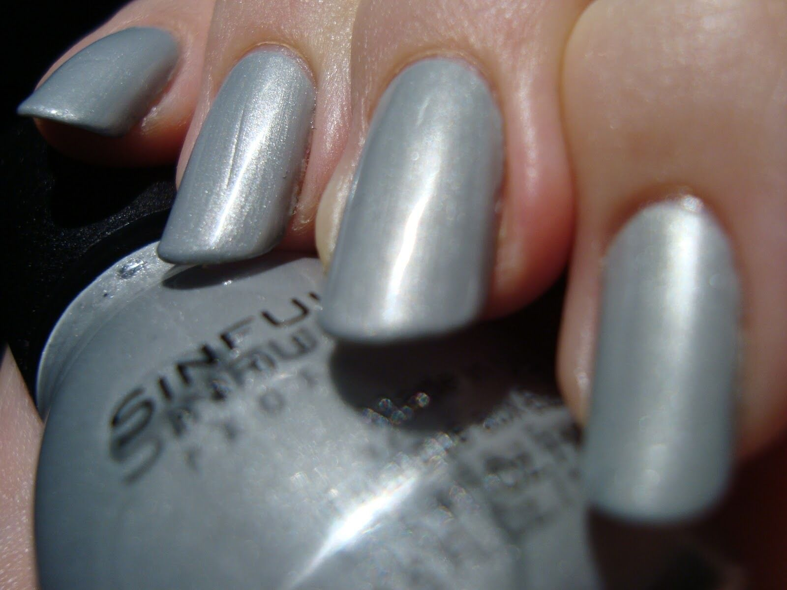 Sinful Colors Professional Nail Polish Color Tantalize # 1179 Silver ...