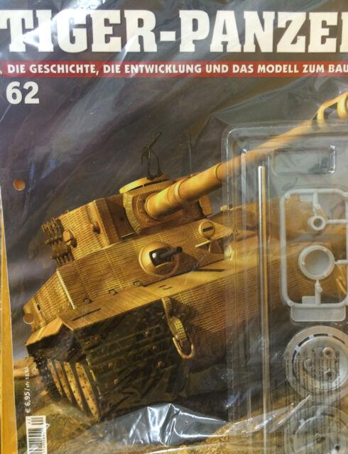 3 X Stück  TIGER-PANZER, Geschichte, Entwicklung und das Modell zum bauen