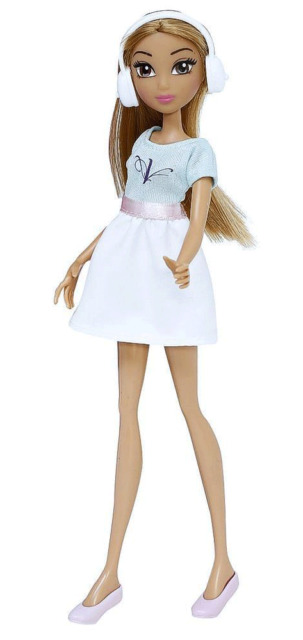 Disney Violetta Doll - V Friends 4 Violetta - light blue white Dress - 25 cm