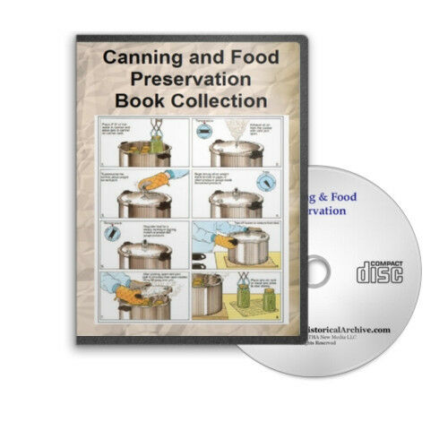 Home Canning Self Sufficiency Food Recipes Backwoods Prepper 34 Book Set - D201