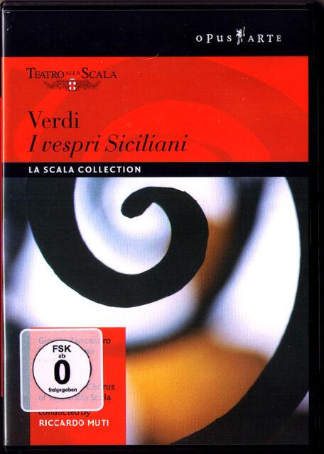 DVD VERDI: I VESPRI SICILIANI Cheryl Studer Giorgio Zancanaro Chris Merritt MUTI