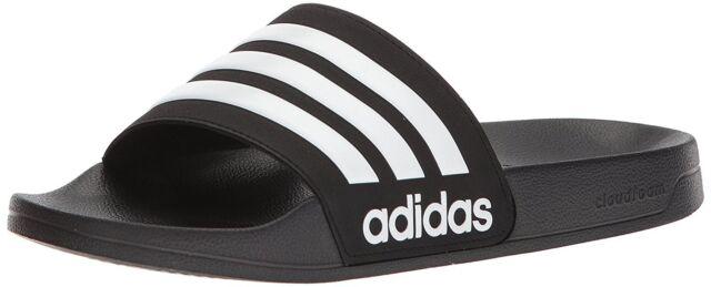 uomo adidas neo di adilette slide sandalo aq1701 nucleo nero / bianco / core