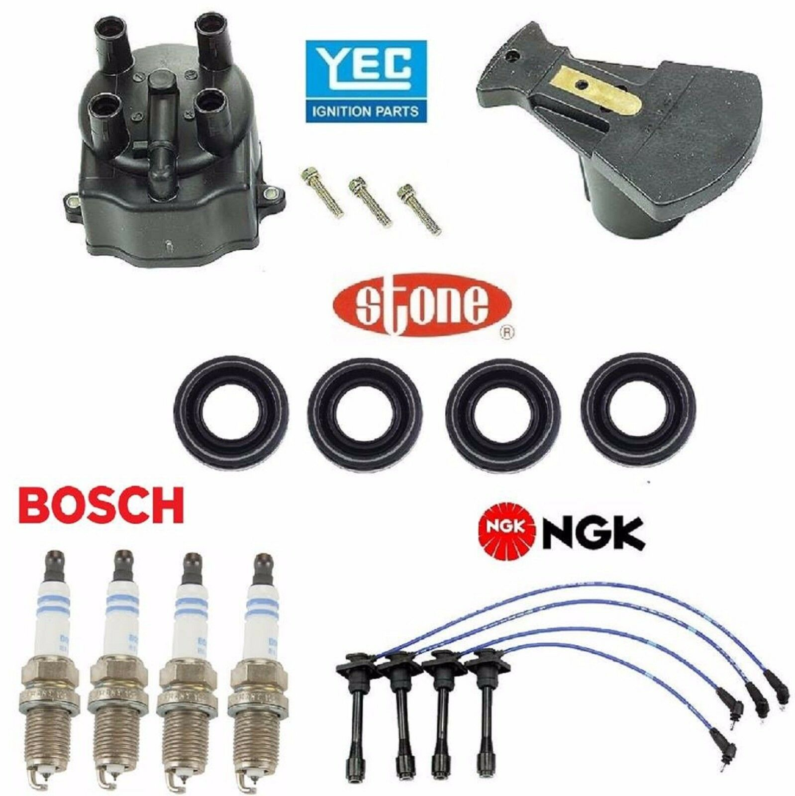 Tune up Kit Cap Rotor Plugs Wire for Toyota Corolla 1996 | eBay