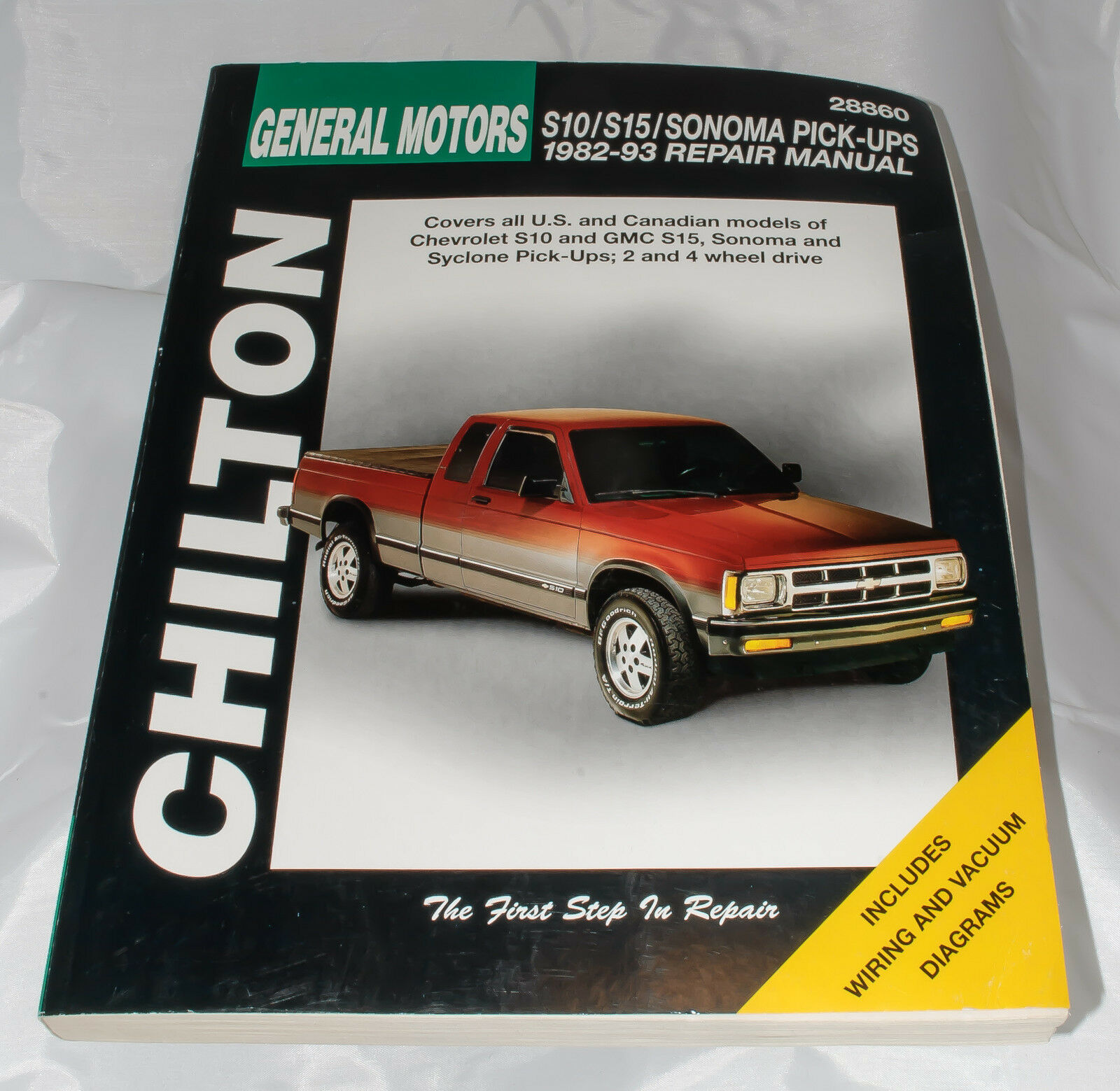 Chilton General Motors Chevrolet S10 GMC S15 Pick-ups 1982 - 94 Repair  Manual | eBay