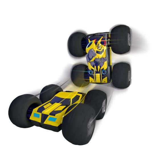 RC Transformers Flip N Race Bumblebee Ferngesteuert Auto Dickie Kinder Spielzeug