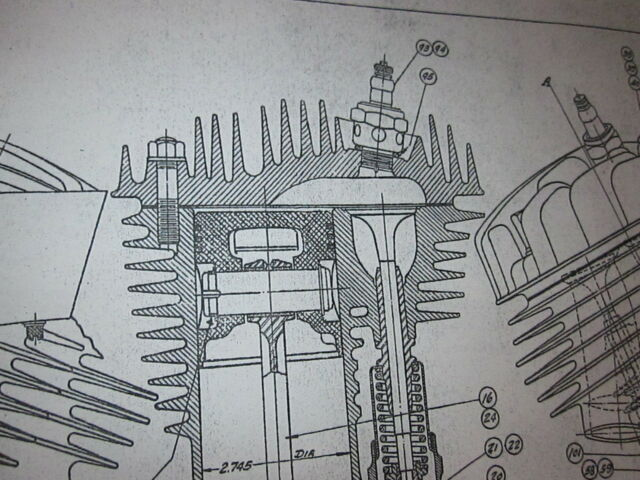 45 flathead both engine transmission harley davidson blueprint 45 flathead both engine transmission harley davidson blueprint poster print malvernweather Gallery
