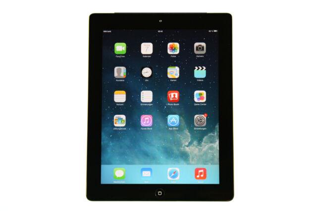 """Apple iPad 2. Gen Wi-Fi + 3G 16GB Schwarz (9,7"""") - Vom Händler #478"""