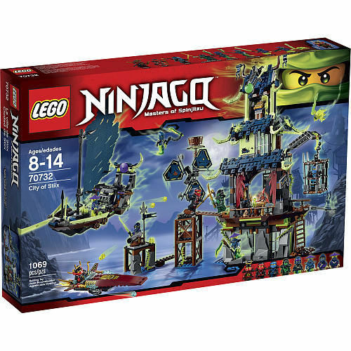 Lego City of Stiix Ninjago Set 70732 W Temple Ghost Ship 8 ...