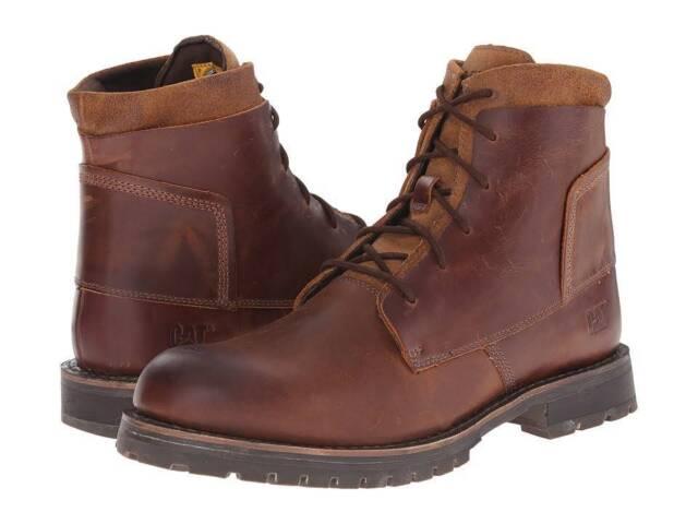 CATERPILLAR P719077 LENOX Mn's (M) Dogwood Leather Lifestyle Hi-Top Boots