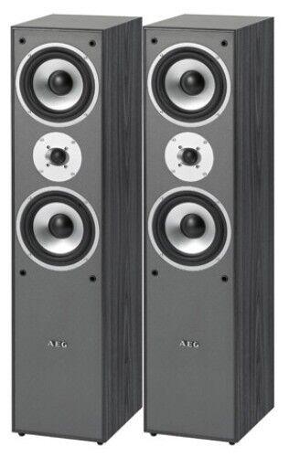 Lautsprecher Paar Bassreflex Boxen 1000 Watt AEG LB4711 mit sattem Sound
