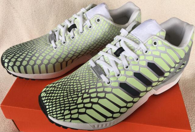 Adidas ZX Flux Xeno AQ4535 Glow Dark Torsion Marathon Running Shoes Men's 8  new