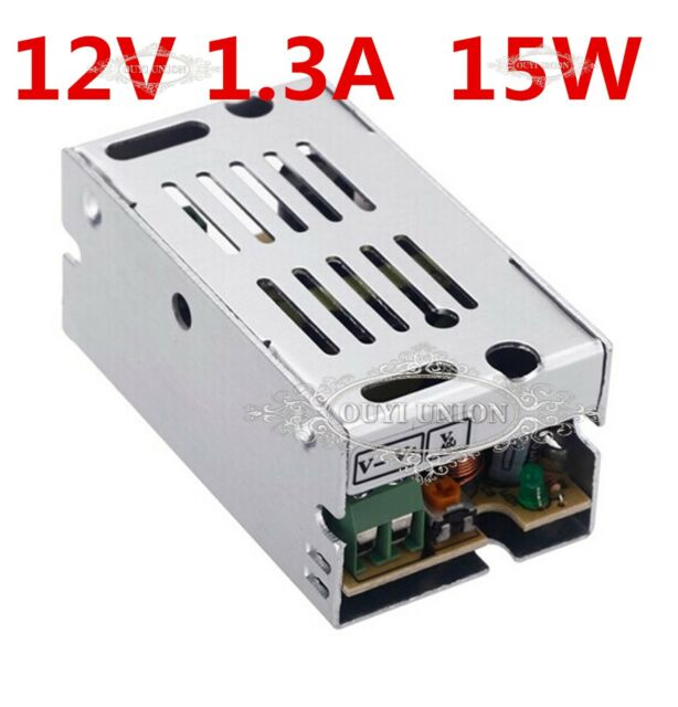 Ac 110v220v dc 12v 13a 15w switching power supply driver for led 15w 13a dc 12v led light strip driver transformer power supply ac 110v220v aloadofball Choice Image