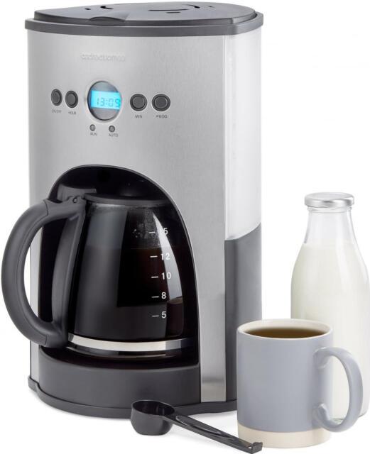 Andrew James Filter Coffee Maker Machine 1.8L 15 Cup Digital Percolator 1100W