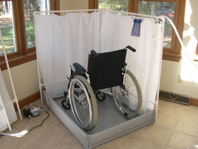 Handicap Showers | Portable Wheelchair-accessible Foldable Shower ...