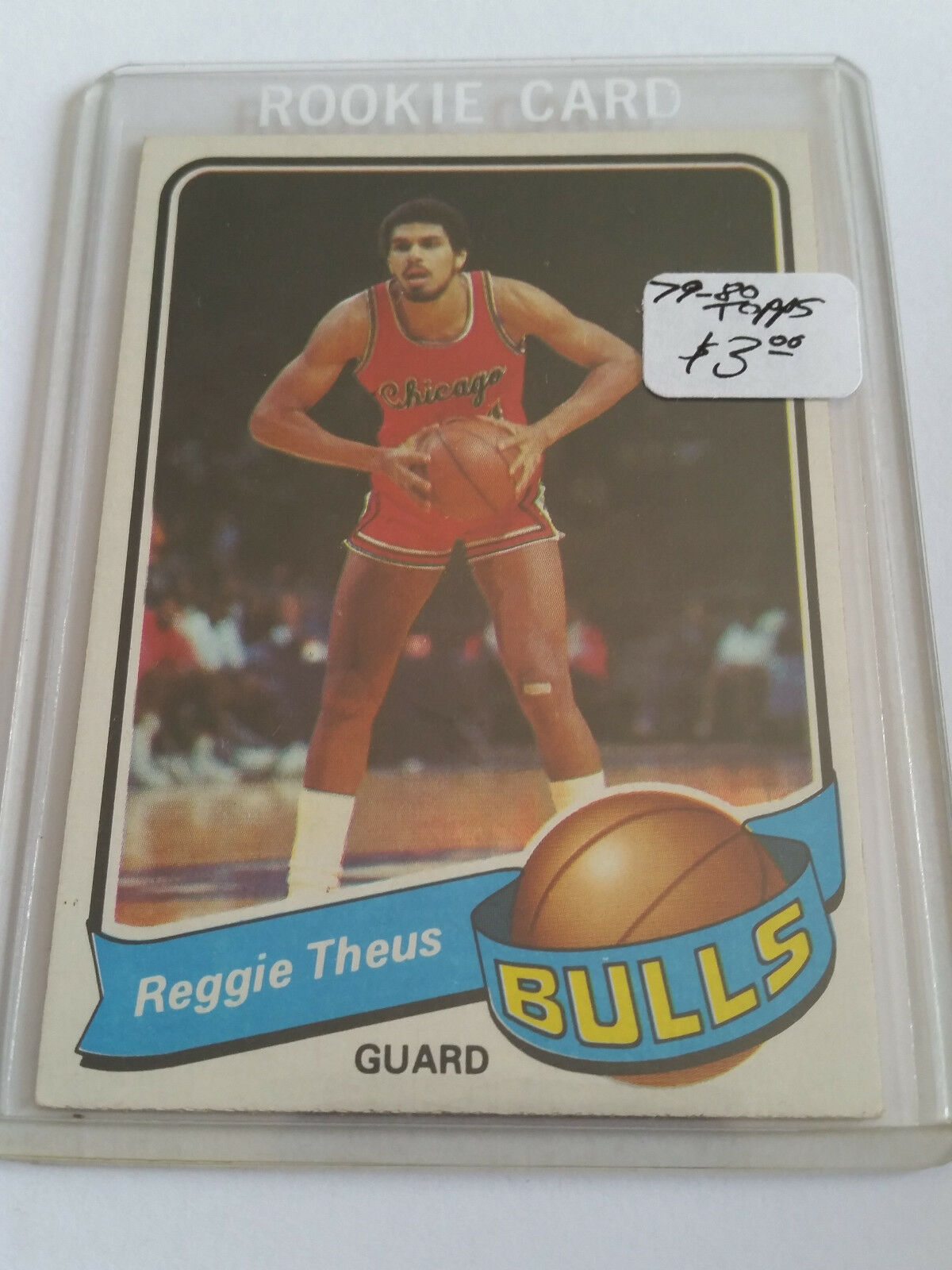 1979 Topps Reggie Theus 44 Basketball Card