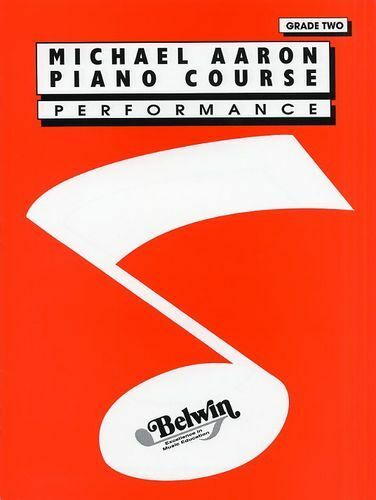 Michael Aaron Piano Course Performance Grade 2 Learn to Play Keyboard Music Book
