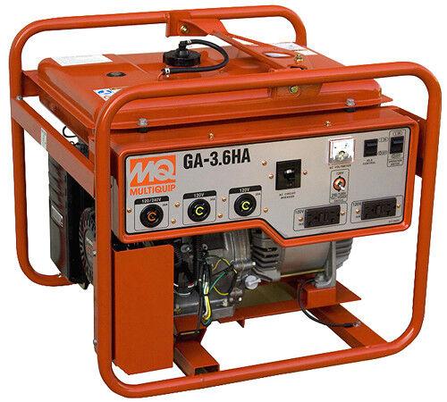 Multiquip 3600w Portable Generator Honda Engine GA36HB | eBay