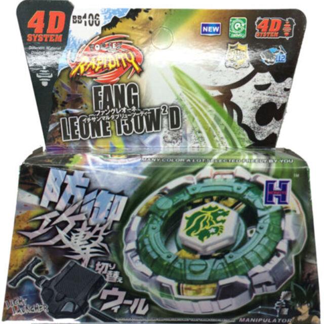 Fang leone metal fury 4d beyblade starter set w launcher - Beyblade metal fury 7 ...